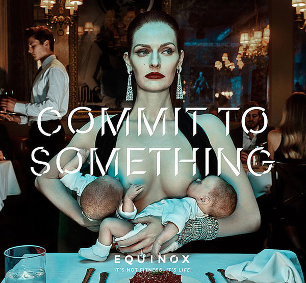 Equinox Gym breastfeeding ad