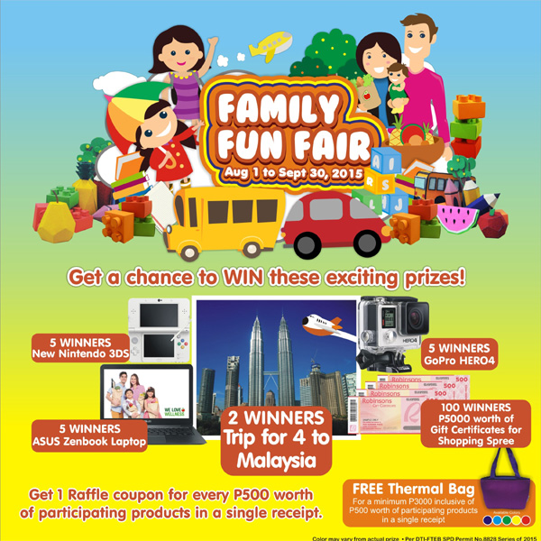 Shop and Travel with Robinsons Supermarket Family Fun Fair
