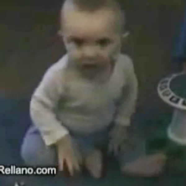 This Made our Day: Baby Startled by His Own Fart