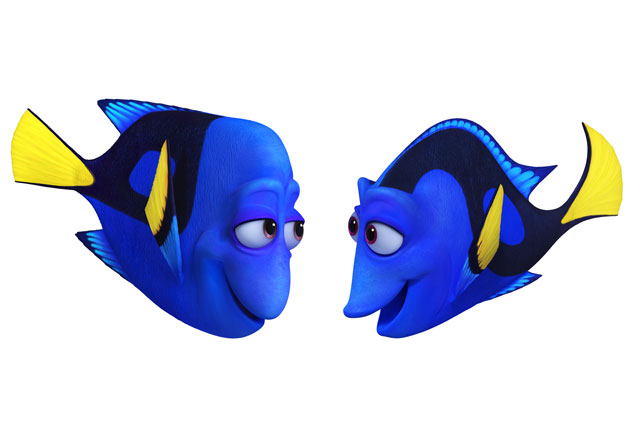 Finding Dory-Jenny and Charlie
