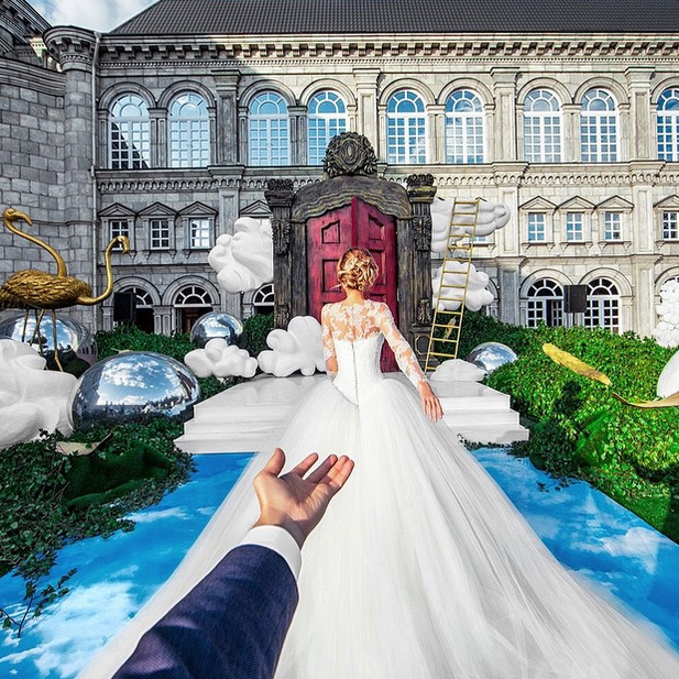 Top of the Morning: World-traveling Instagram Couple Gets Married