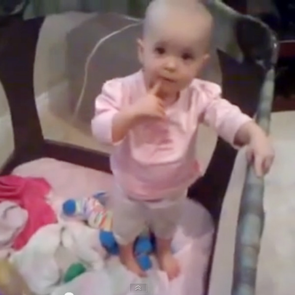 This Made Our Day: See How This 1-year Old Evades Bedtime