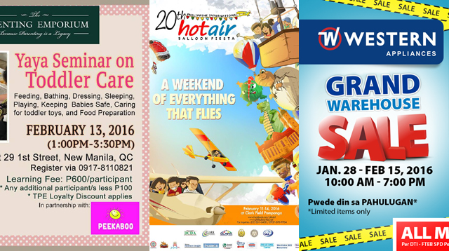 Family Weekender Guide: Things to Do on February 12 to 14