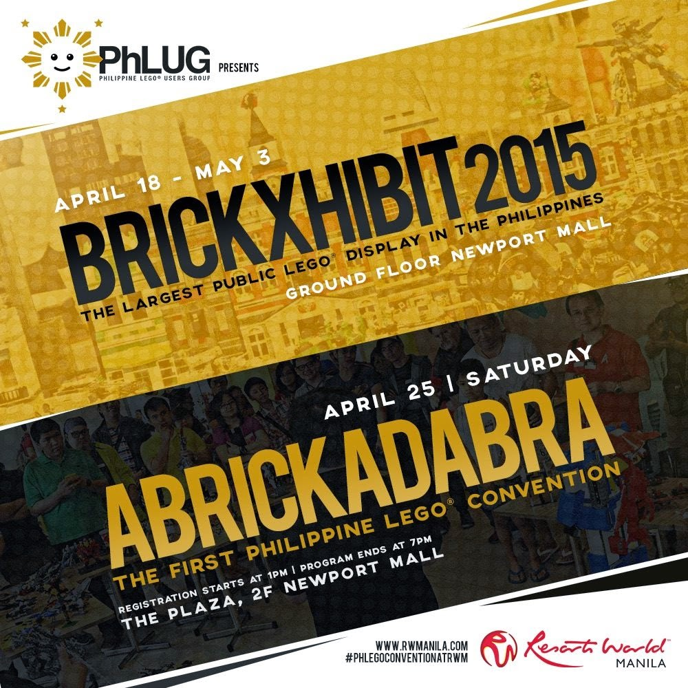 BRICKXhibit poster