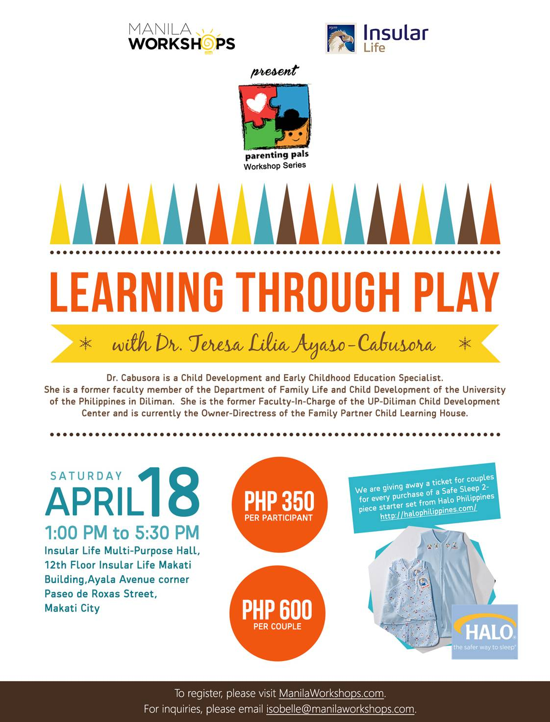 Learning Through Play poster