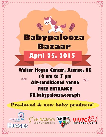 The Babypalooza Bazaar poster