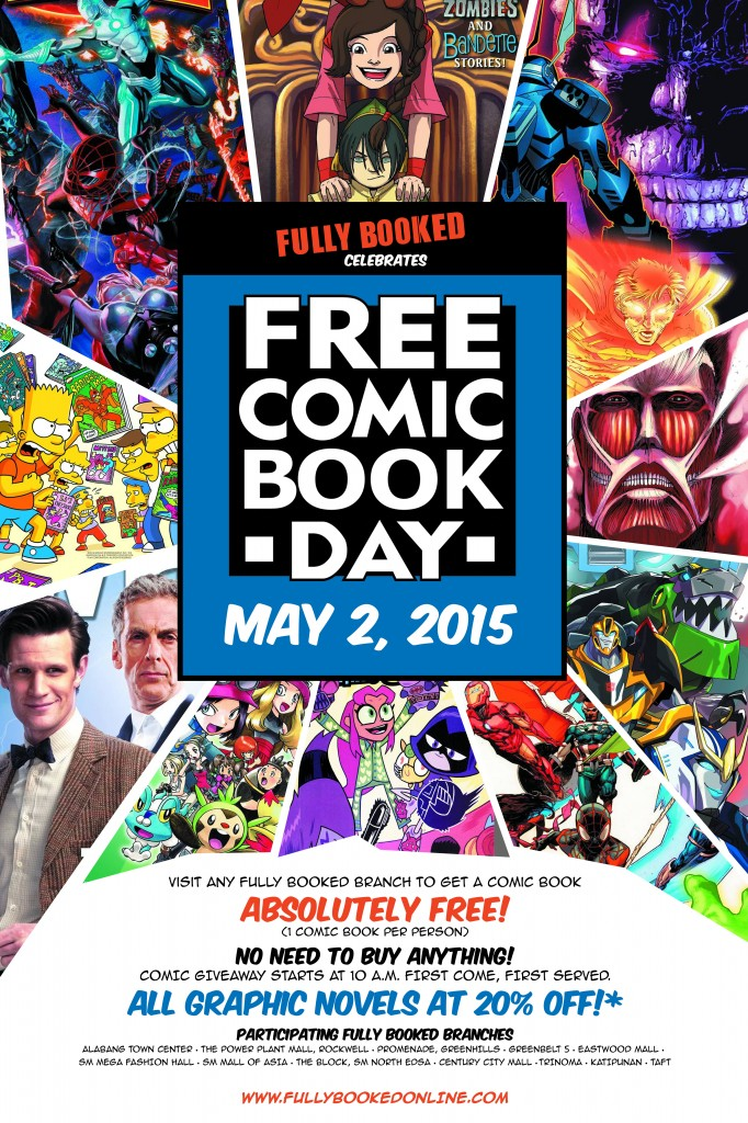 Free Comic Book Day poster