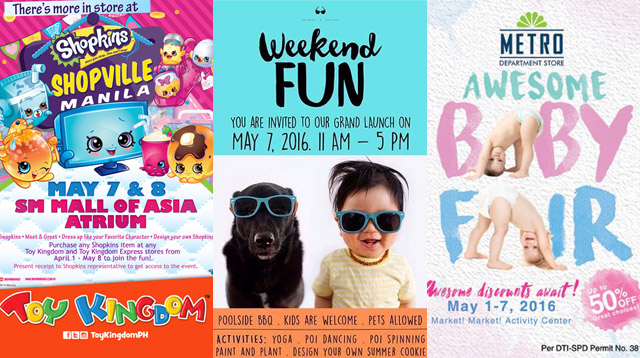 Family Weekender Guide: Things to Do This Mother's Day Weekend!