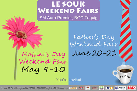 Le Souk Mother's Day Weekend Fair poster