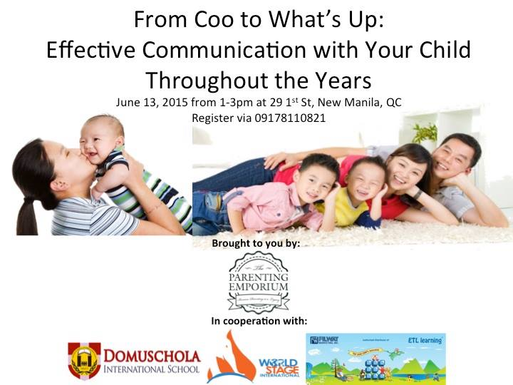 From Coo to What's Up: Effective Communication with Your Child Throughout the Years