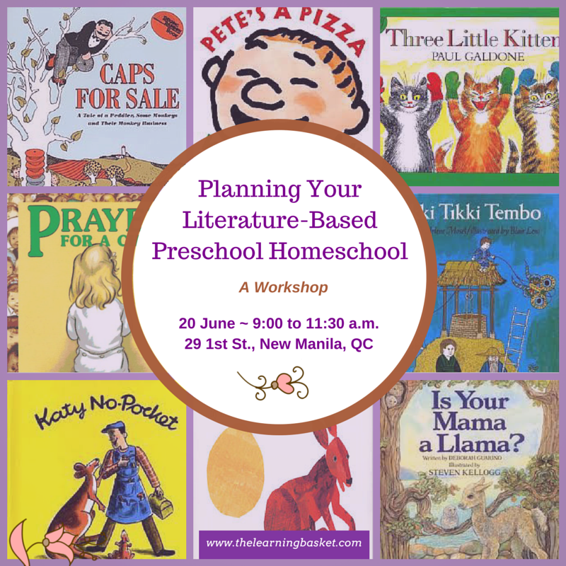 Planning Your Literature-Based Preschool Homeschool