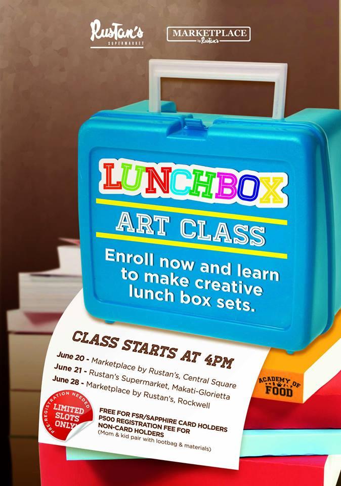 Lunchbox Art Class
