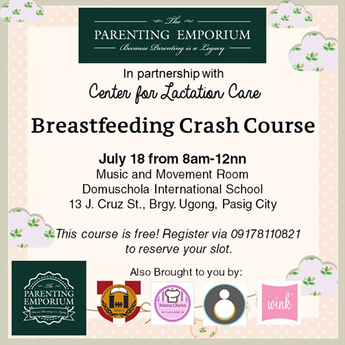 The Parenting Emporium's Breastfeeding Crash Course