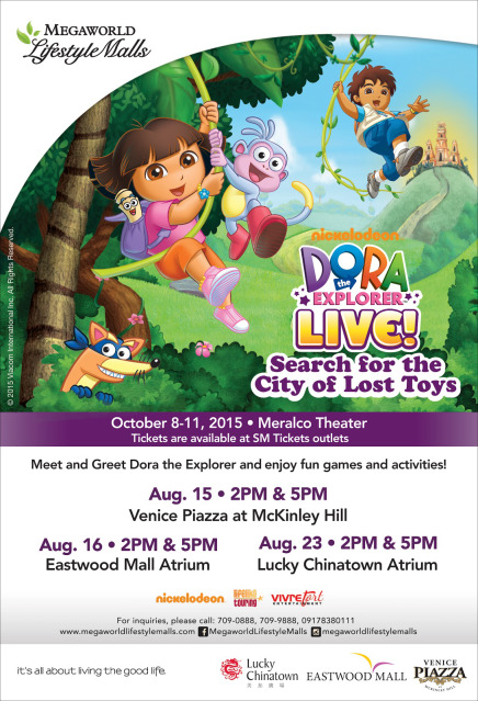 Dora the Explorer Live! Search for the City of Lost Toys Mall Show
