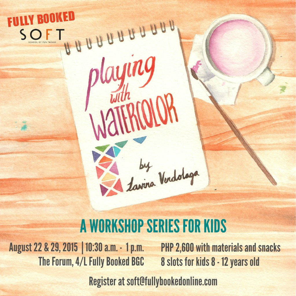 Playing with Watercolor: A Workshop Series for Kids