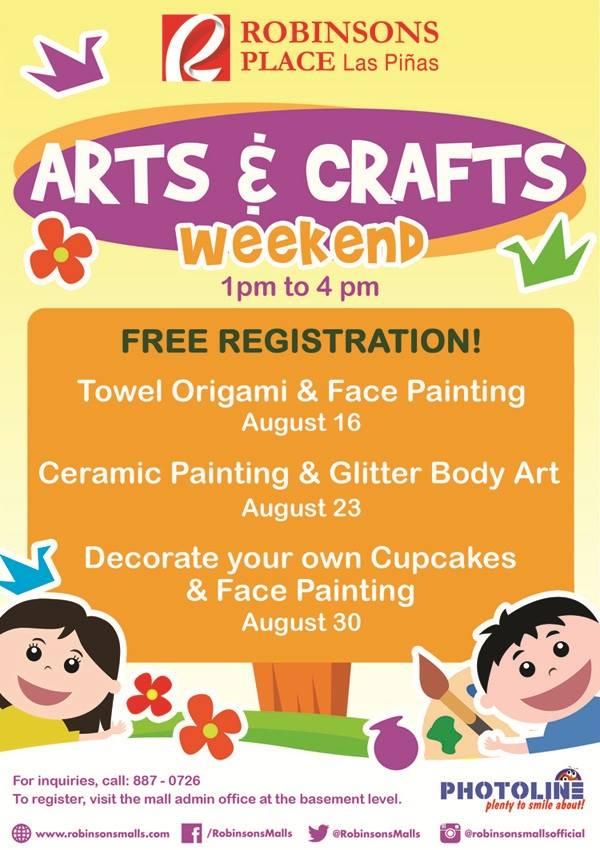 Robinsons Place Las Piñas' Arts & Crafts Weekend