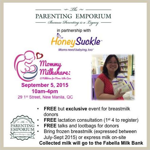 Mommy Milkshare: A Milkdrive for Moms Who Care