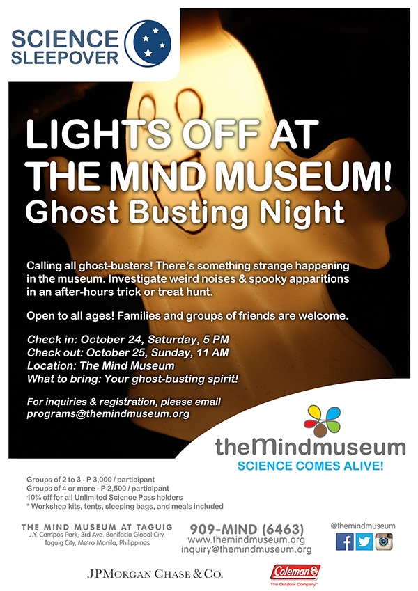 Lights Off at The Mind Museum: Ghost Busting Night