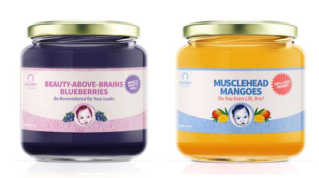 Gender Baby Food