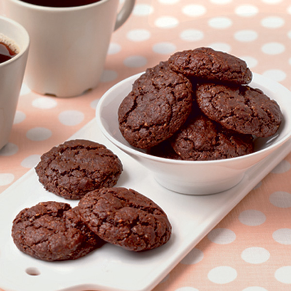 Weekend Recipe: Gluten-Free Chocolate Cookies