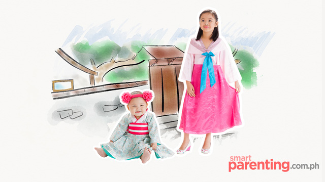 Hanbok costume