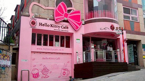 Hello Kitty Cafe California