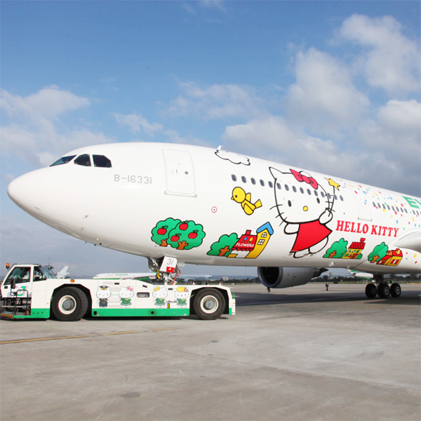 Top of the Morning: New Hello Kitty Plane to be Unveiled in May with New Flight Route