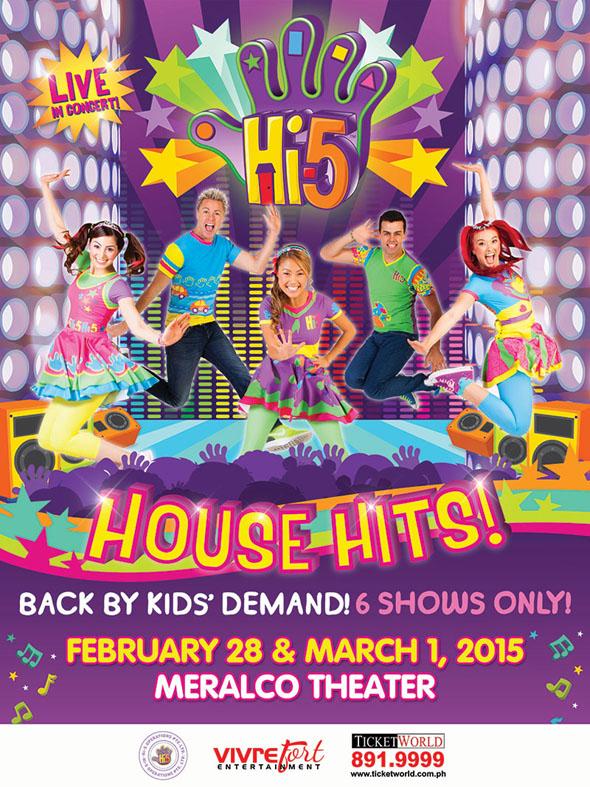Hi-5 Concert Poster