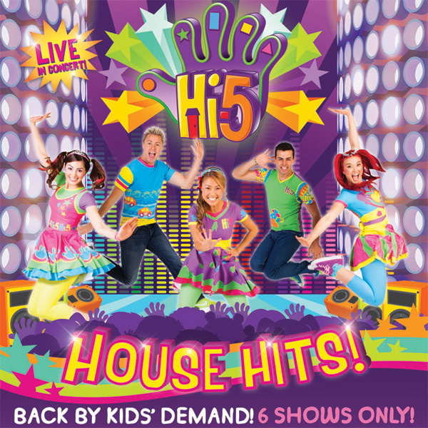 Back by Kids' Demand: Hi5 House Hits Returns to Manila!