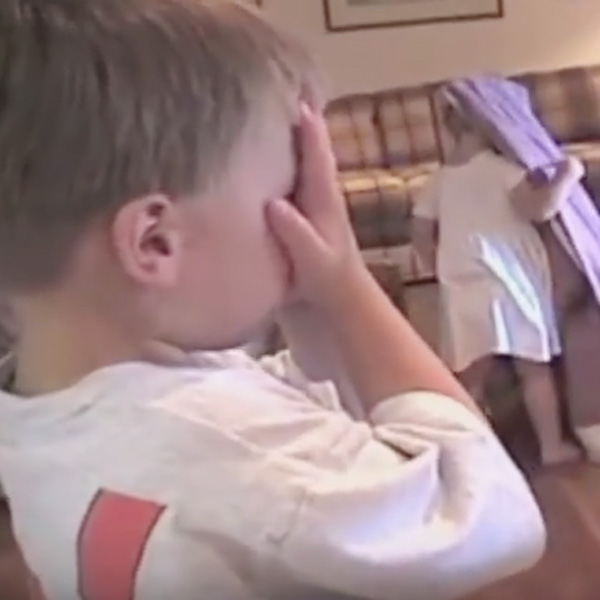 This Made Our Day: Kids Try -- But Fail -- to Play Hide 'n Seek