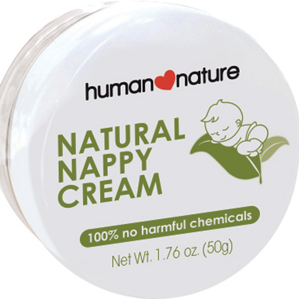 Human Nature Introduces the First 100% Natural Nappy Cream