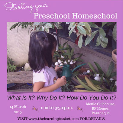 Homeschool workshop