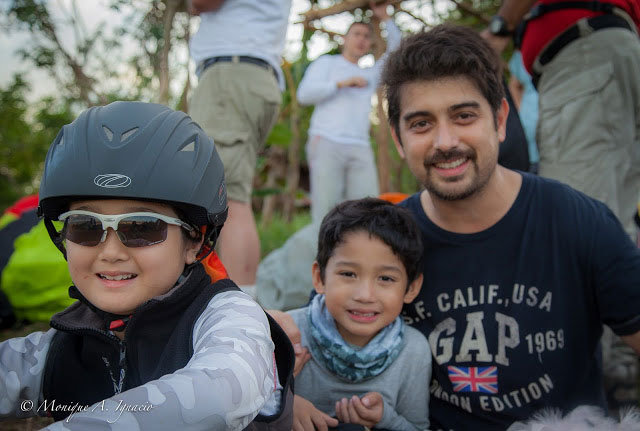Ian Veneracion with sons