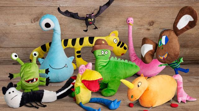 IKEA plush toys