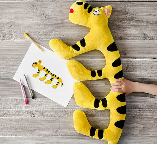 Ikea plush tiger