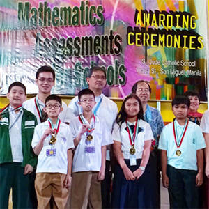 Filipino Students Win 64 Medals in Int'l Math Competition