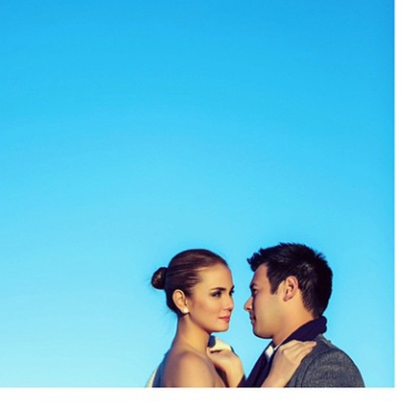 Top of the Morning: Here's A First Look at Isabel Oli & John Prats' Prenup Shoot