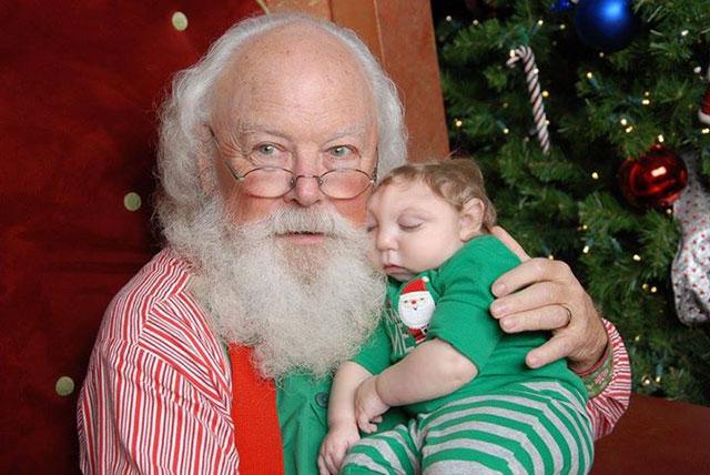 Jaxon and Santa