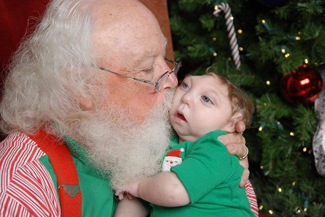 Jaxon and Santa 2