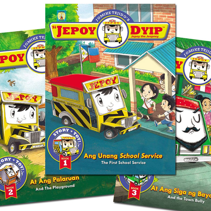 """Si Jepoy Dyip"" Storybook Set to Capture the Hearts of Car-loving Kids"