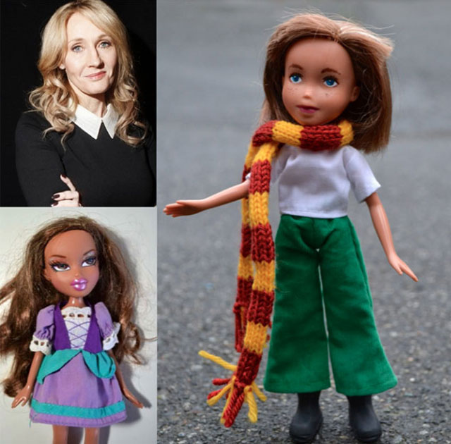 J.K. Rowling doll