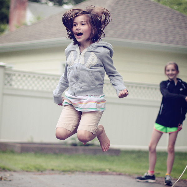 This Battery Charging Jump Rope Might Just Get Your Child to Exercise More