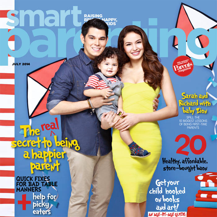 Richard, Sarah and Baby Zion are Picture(book)-Perfect in July