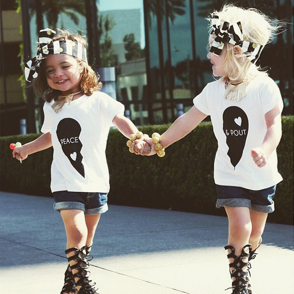 These Adorable 2-Year-Olds are Fashion Besties