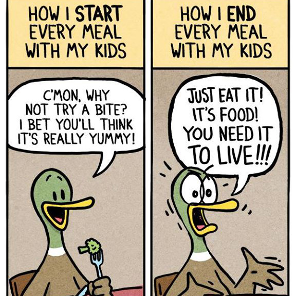 This Hilarious Comics Starring Ducks Perfectly Describe What Being a Parent is Like