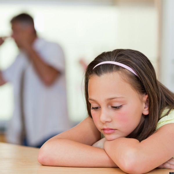 Children Who Witness Their Parents Argue Are More Sensitive to Anger, Says Study