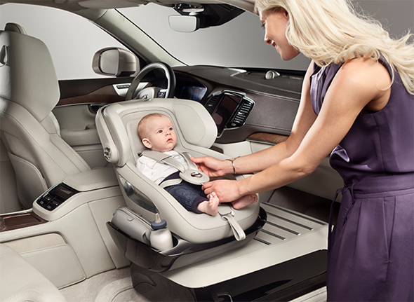 Volvo's XC90 Excellence Child Seat Concept