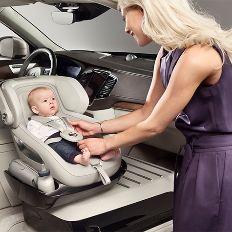 Is This the Ultimate in Child Car Seat Luxury?