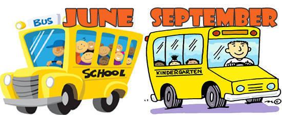 June or September
