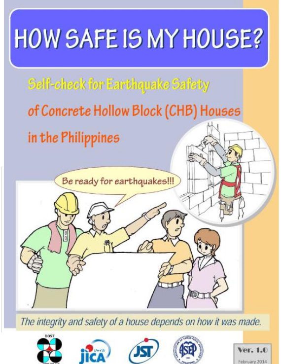 PHIVOLCS' How Safe is My House questionnaire